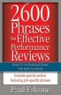 2600 Phrases for Effective Performance Reviews: Ready-to-Use Words and Phrases that Really Get Results Издательство: AMACOM/American Management Association, 2005 г Мягкая обложка, 244 стр ISBN 0814472826 инфо 3366r.
